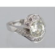 Zlatý prsten s brilianty 5,25 ct