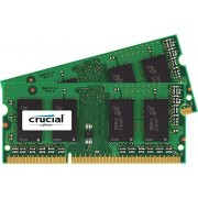 New Crucial 16GB Kit (8GBx2) DDR3/DDR3L-1600 MHz (PC3-12800) CL11 204-Pin SODIMM Memory for Mac CT2K8G3S160BM / CT2C8G3S160BM by Crucial