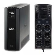 UPS APC Back-UPS RS line-interactive / aprox.sinusoida 1500VA / 865W, 6 conectori Schuko CEE7, BR1500G-GR (APC)