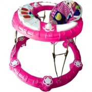 Suraj Baby pink Walker With Musical Light for your kids Se-W-60