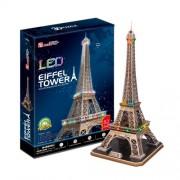 Cubic Fun L091H - 3D Puzzle La Torre Eiffel con LED Parigi Francia
