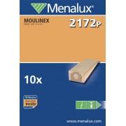 Menalux 900196830 2172 P Sacchetti per Scopa Moulinex Fidelio-Ds1.51-Ads A51-Adss41
