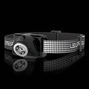 LED LENSER® SEO7R Stirnlampe, schwarz