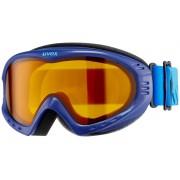 UVEX cevron Gogle niebieski Gogle narciarskie
