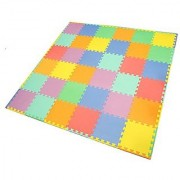Smartots My First Rainbow Interlocking Crawling Play Mat (36-Piece)