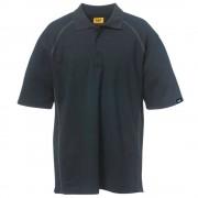 CAT Piqü Poloshirt 1620520, schwarz Gr. M
