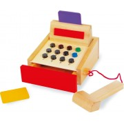 Dřevěná dětská pokladna