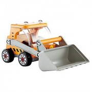 Hape - Playscapes - Great Big Digger Wooden Toy Vehicle