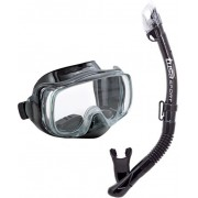 UC-3325 Imprex 3D Dry Combo BK - zestaw maska + fajka + GRATIS