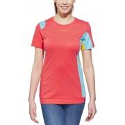 La Sportiva Elixir Bluzka z krótkim rękawem Kobiety różowy S Bluzki wspinaczkowe z krótkim rękawem