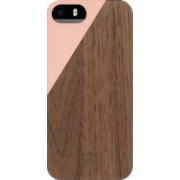 Skin Native Union Luxury Clic Apple iPhone 5s Lemn de nuc Blossom