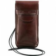 Etui Porte Lunettes ou smartphone Cuir -Tuscany Leather-