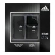 Coty Adidas Moves 001 1 oz / 29 mL Eau De Toilette Spray + 1 oz / 29 mL After Shave Gift Set Men's Fragrance 462058