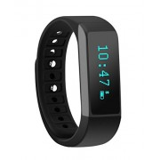 moreFit F1 Fitness Tracker with Touch Screen Best Pedometer Smartband Sleep Monitor Watch, Black by moreFit