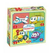 Puzzle pentru bebeluși Dohány Primul meu puzzle Transport