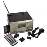 MINI SPEAKER SK-020 COM RADIO FM