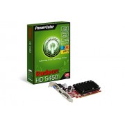 Powercolor AX5450 - Scheda grafica Radeon HD5450 1GBK3-SHEV2, 1024 MB DDR3, interfaccia PCI Express 2.1 (UEFI Ready)