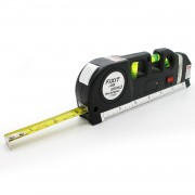 Kombinovaná laserová vodováha - libela s metrom