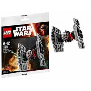Disney Star Wars LEGO with Coloring Book and Activity Set - LEGO First Order Tie Fighter Building Toy, 2 Jumbo Coloring and Activity Books, 12 Star Wars Jumbo Crayons