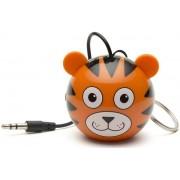 Boxa Portabila KitSound MyDoodle Characters Tiger, Jack 3.5mm (Portocaliu)