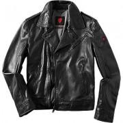 Strellson Sportswear Herren Lederjacke Lammnappa schwarz schwarz,grau,rot