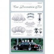 Kit decorare masina pentru nunta, Amscan 246855, Set 71 piese