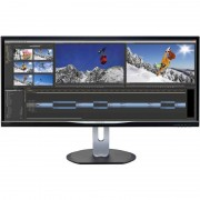 Monitor LED Philips BDM3470UP 34 inch 5ms Black