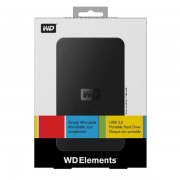 1000GB WD Elements, Black, USB3.0 (WDBUZG0010BBK-EESN)