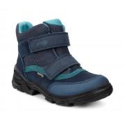 Ghete baieti ECCO Snowboarder cu arici (Albastre / Denim Blue)