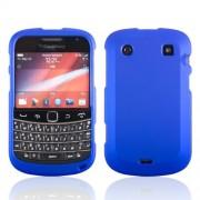 Samrick Coque de Protection rigide hybride pour Blackberry 9900/9930 Bold Touch, Maille, bleu, 115 x 66 x 10,5