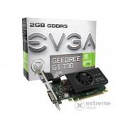 Placa video EVGA nVidia GT 730 2GB DDR5 - 02G-P3-3733-KR