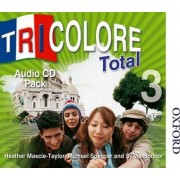 Tricolore Total 3 Audio CD Pack (5x Class CDs 1x Student CD) by Sylvia Honnor