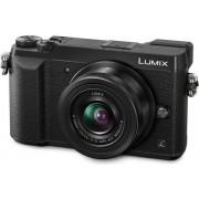 Aparat Foto Mirrorless Panasonic DMC-GX80K, cu Obiectiv 12-32mm, Filmare Ultra HD 4K, 16 MP, Wi-Fi (Negru)