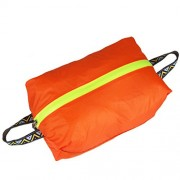 Generic Outdoor Travel Kit Tote Laundry Shoes Pouch Clothing Luggage Bag S Orange
