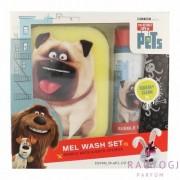 Universal - The Secret Life Of Pets Mel Wash Kit (250ml) Szett -Habfürdő, fürdőszivacs