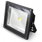 G21 LED reflektor, 50W melegfehér, 3517lm - fekete