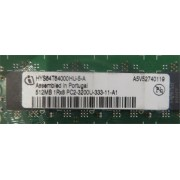 Mémoire INFINEON HYS64T64000HU-3.7-A:INFINEON 512MB PC2-4200 444MHz-11-A1
