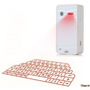 Jo Jo Wireless Laser Projection Bluetooth Vitual Keyboard for Lenovo White