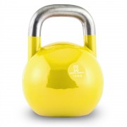 Capital Sports Compket 16 Competition Kettlebell Kugelhantel Stahl 16kg Gelb