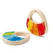 Hape E0321 - Coppia di Maracas, Multicolore