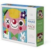Crocodile Creek Make-A-Face Blocks Funny Face People Mix & Match Block Stacking Set 2.5