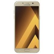"""Samsung Téléphone portable smartphone Samsung Galaxy A3 (2017) Écran tactile 12,04 cm [4,7""""] Mémoire 16 Go Android 6.0 Noir"""