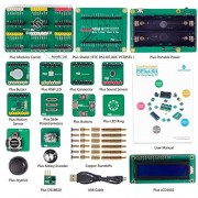 SunFounder No-Wire Module-Changeable Extension Shields Starter Kit PiPlus for Raspberry Pi 2, 3 Model B & Raspberry Pi 1 Model B+