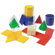 Folding Geometric Shapes, for Grades 2 and Up, Sold as 1 Set [importato dalla Germania]