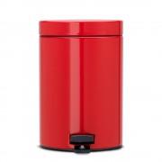 Brabantia Classic Passion Red pedálos szemetes 5 literes vörös - 483707