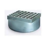Sifon Kessel 57410, Stainl. steel upper section, 200x200mm