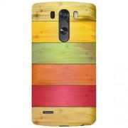 URBAN KOLOURS Original Designer Printed Hard Case Back Cover for LG G4 (Wooden Colors)