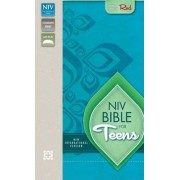 NIV, Bible for Teens, Imitation Leather, Green, Red Letter Edition by Various Authors