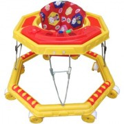 Oh Baby Baby Musical 8 Wheel Green Color Walker For Your Kids SE-W-09