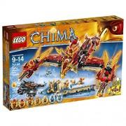 Lego Chima 70146 Flying Phoenix Fire Temple + free Keychain